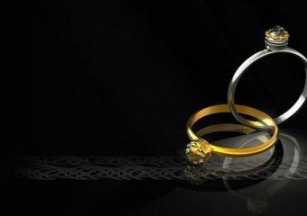 Ringbreedte: hoe breed zijn trouwringen?